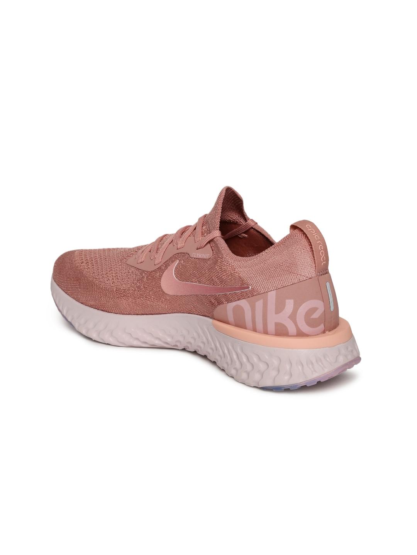 a5fb8aa7fd44d Buy Nike Women Pink Epic React Flyknit Running Shoes - Sports Shoes ...