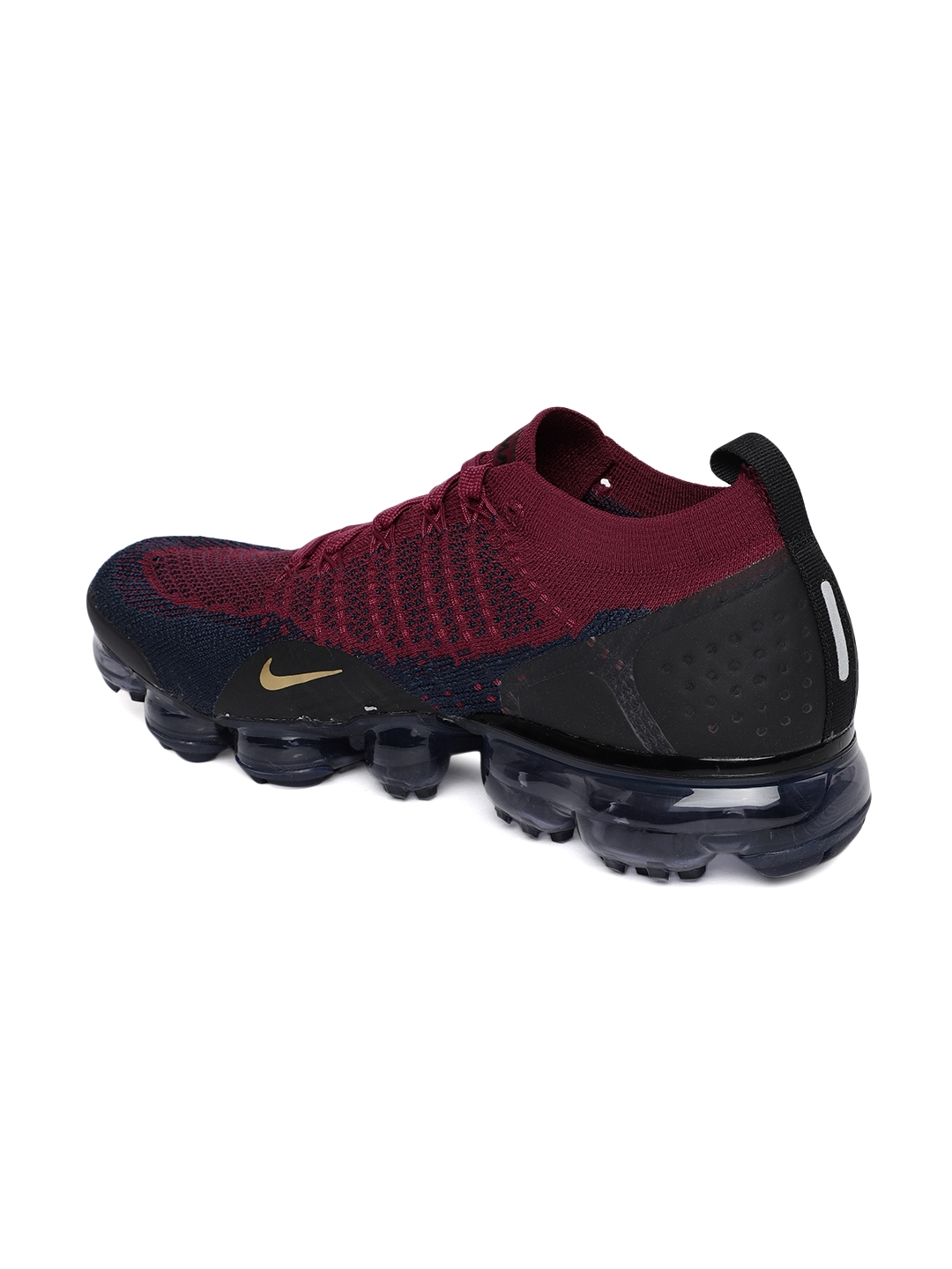 02a497776b Buy Nike Men Maroon   Blue Air Vapormax Flyknit 2 Running Shoes ...