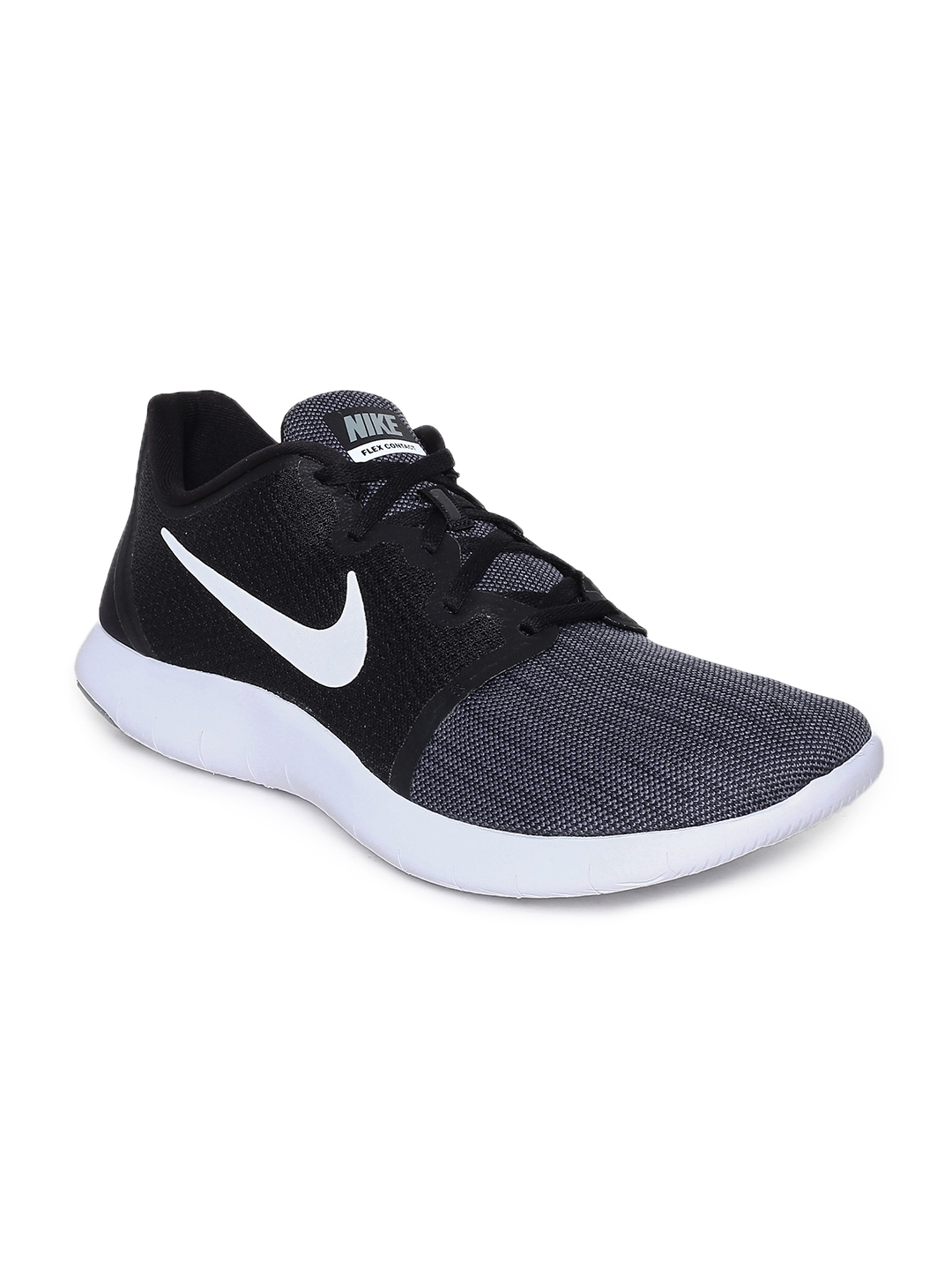 834a7b79b152 Buy Nike Men Black Flex Contact 2 Running Shoes - Sports Shoes for ...