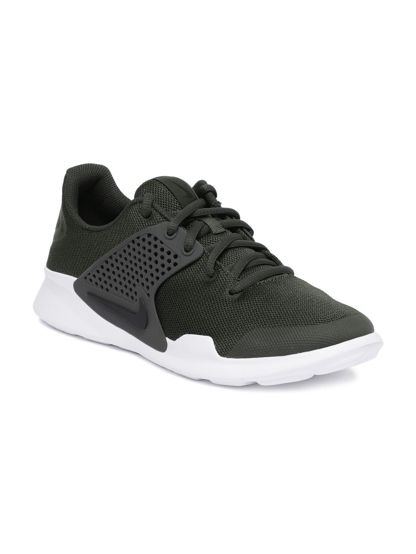 Buy Nike Men Olive Green Arrowz