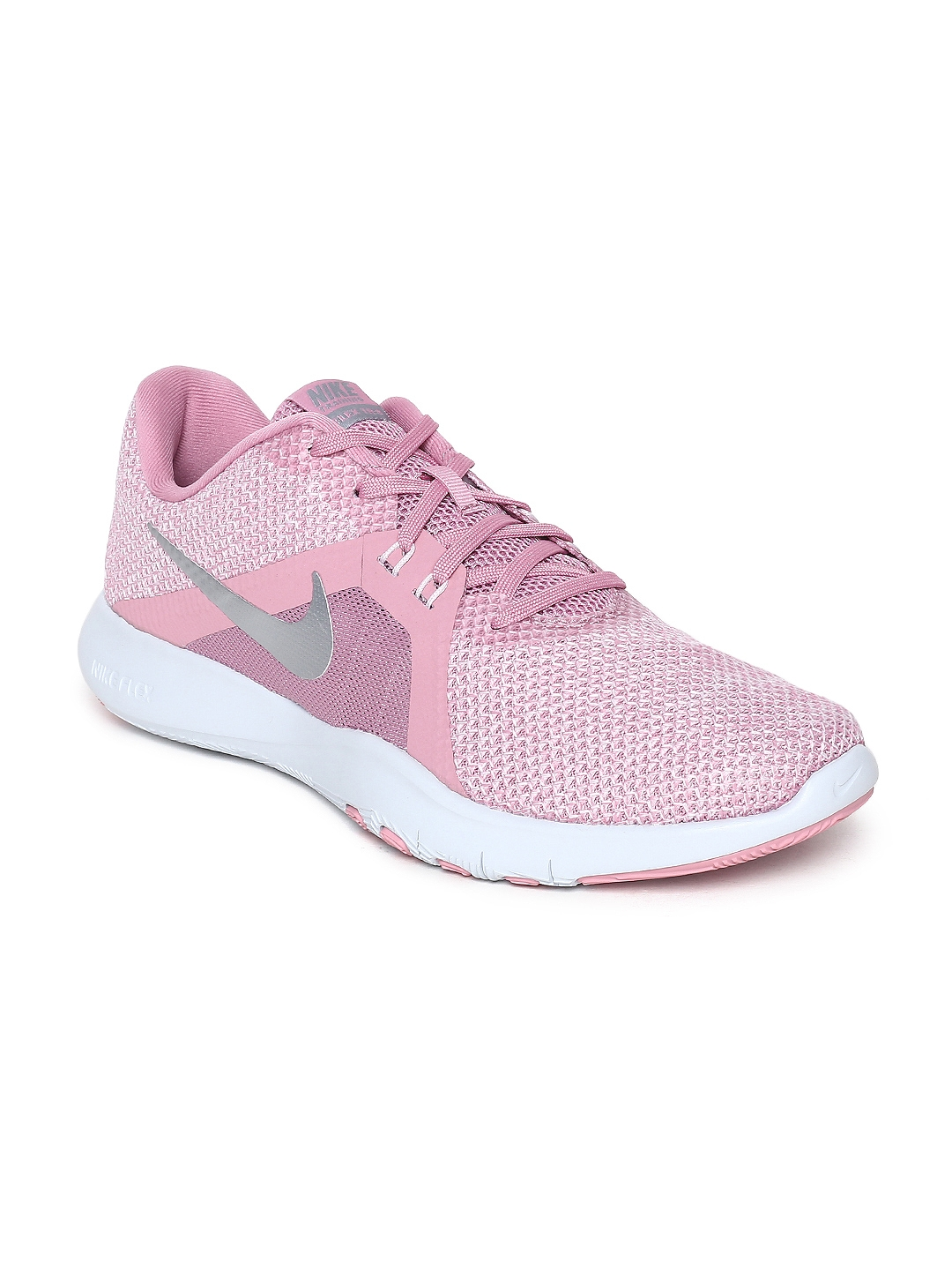 66bc6e88b0698 Buy Nike Women Pink NIKE FLEX TRAINER 8 Training Shoes - Sports ...