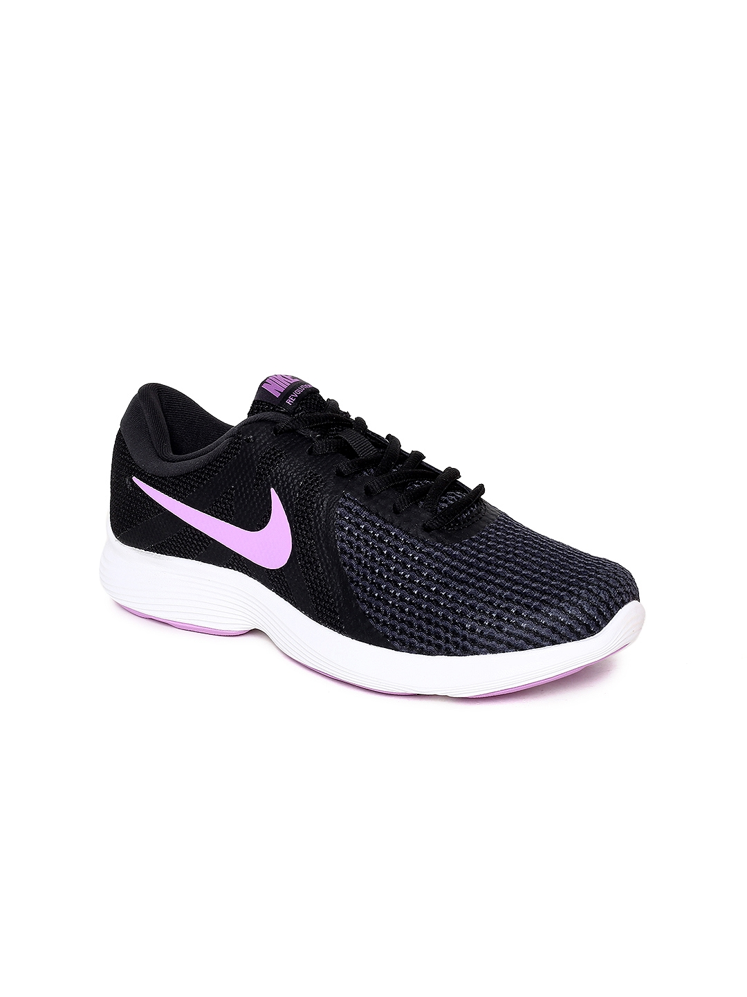 a8e9d07054650 Buy Nike Women Black REVOLUTION 4 Running Shoes - Sports Shoes for ...