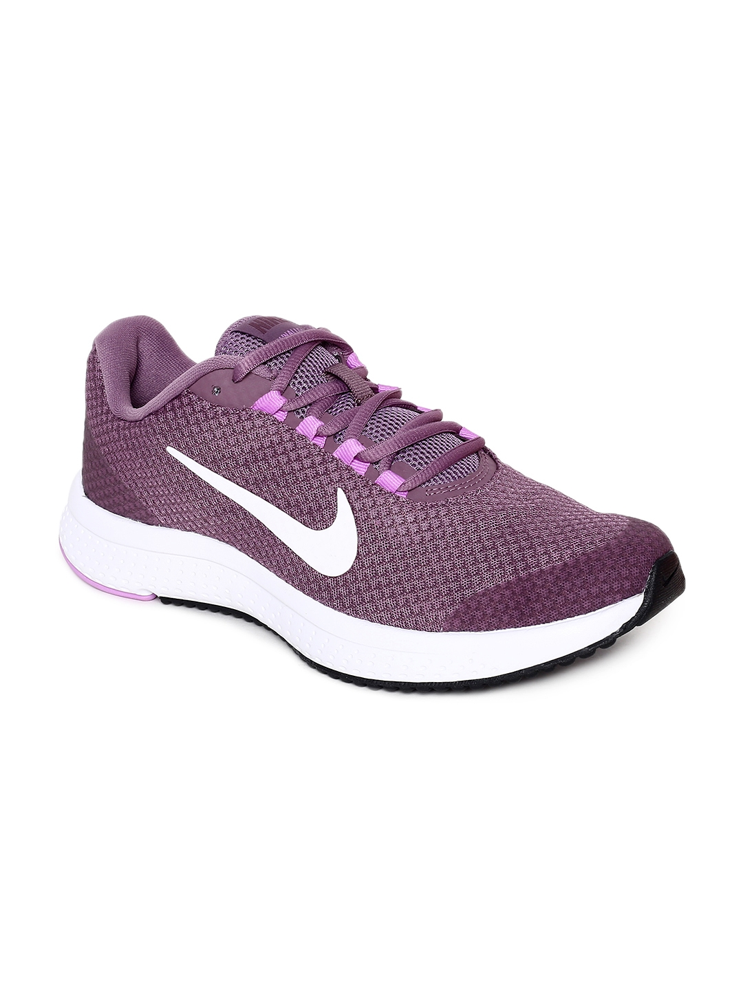 save off 405fb 774f3 Nike Women Purple RUNALLDAY Running Shoe. Best Price  ...
