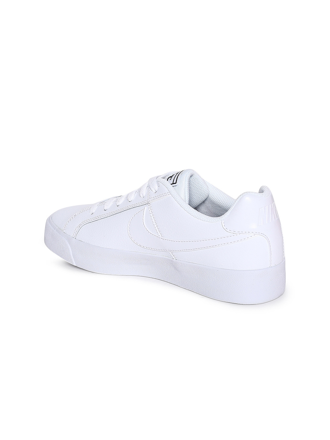 official photos 4cc94 d0b31 Nike Women White Court Royale AC Leather Sneakers