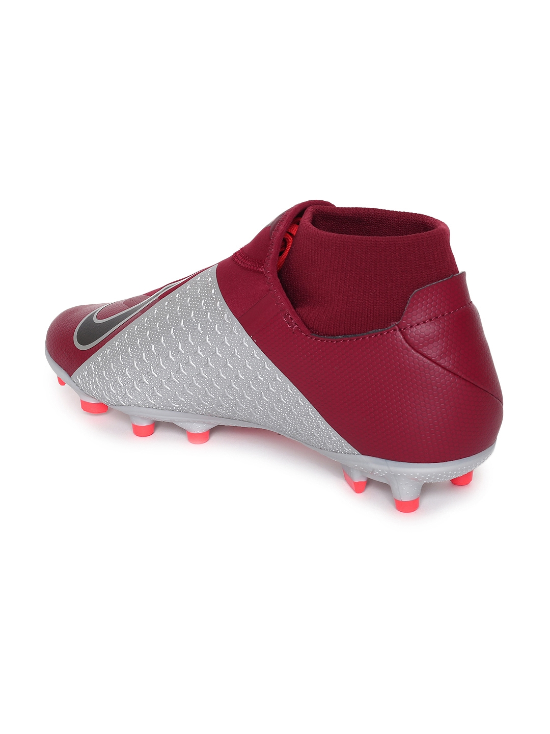Buy Nike Unisex Red OBRA 3 ACADEMY DF MG Football Shoes - Sports ... cc5b47f58eb