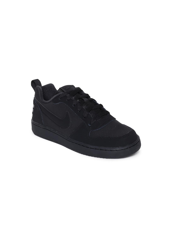 e0b24c01f1 Buy Nike Boys Black Court Borough Low (GS) Sneakers - Casual Shoes ...