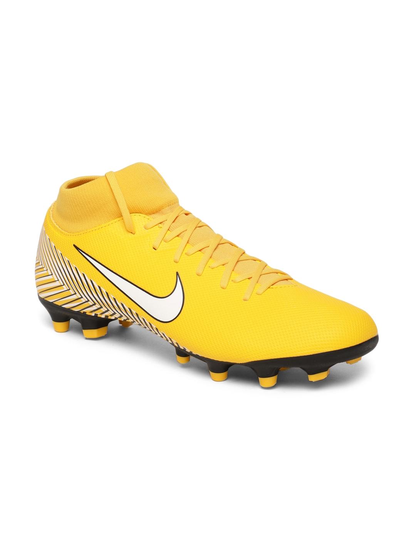 2211e3de9761 Buy Nike Unisex Yellow Synthetic SUPERFLY 6 ACADEMY Football Shoes ...