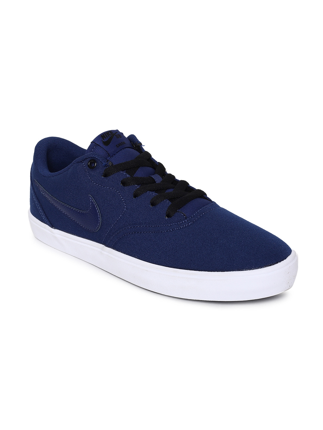 sale retailer e4824 41722 Nike Men SB Check Solarsoft Canvas Skateboarding Shoe