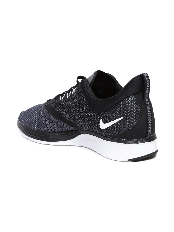 beb3b881d14f Buy Nike Men Black Zoom Strike Running Shoe - Sports Shoes for Men ...