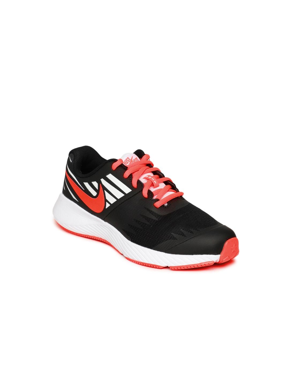 aeaf2ac6eff3 Buy Nike Kids Black   Red STAR RUNNER JDI (GS) Running Shoes ...