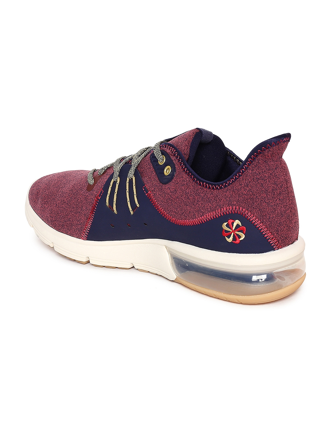 brand new 8bd91 9d770 Nike Men Maroon   Navy Air Max Sequent 3 PRM VST Running Shoes