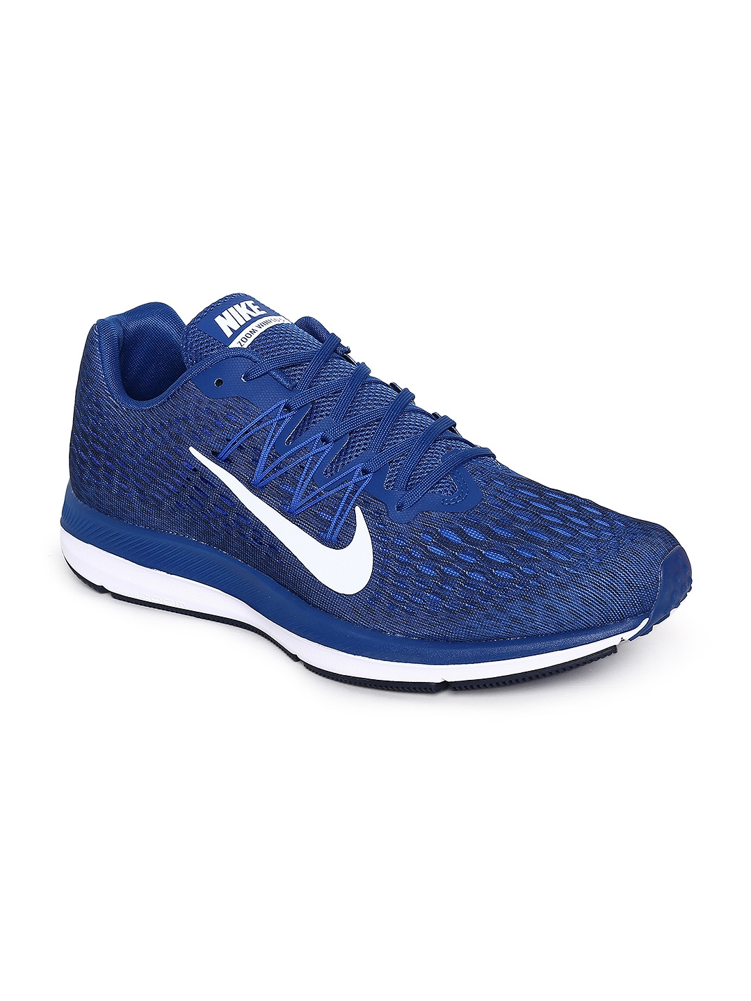on sale a901c 8add3 Nike Men Blue Air Zoom Winflo 5 Running Shoes