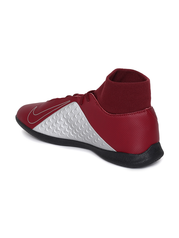 74c5bd222 Buy Nike Unisex Red Synthetic Mid Top OBRA 3 CLUB DF IC Football ...
