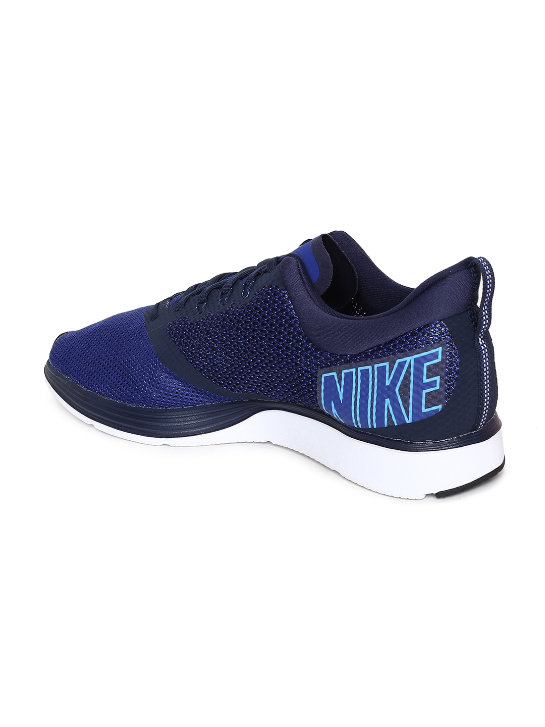 a371182b51dbf Buy Nike Men Blue Zoom Strike Running Shoes - Sports Shoes for Men ...