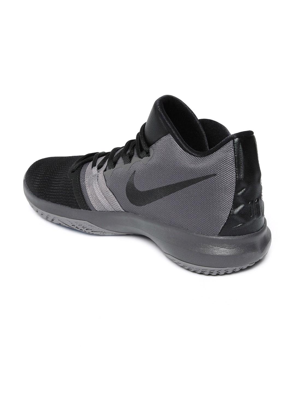 half off 67b2b 2f556 Nike Men Kyrie Flytrap Black Basketball Shoes