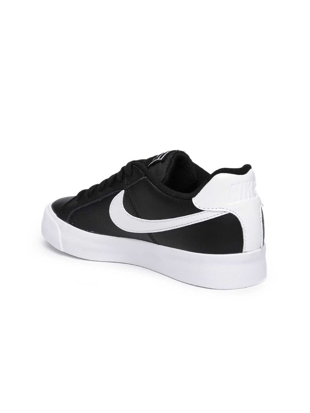 b4c286592b72ad Buy Nike Women Black Court Royale Leather Sneakers - Casual Shoes ...