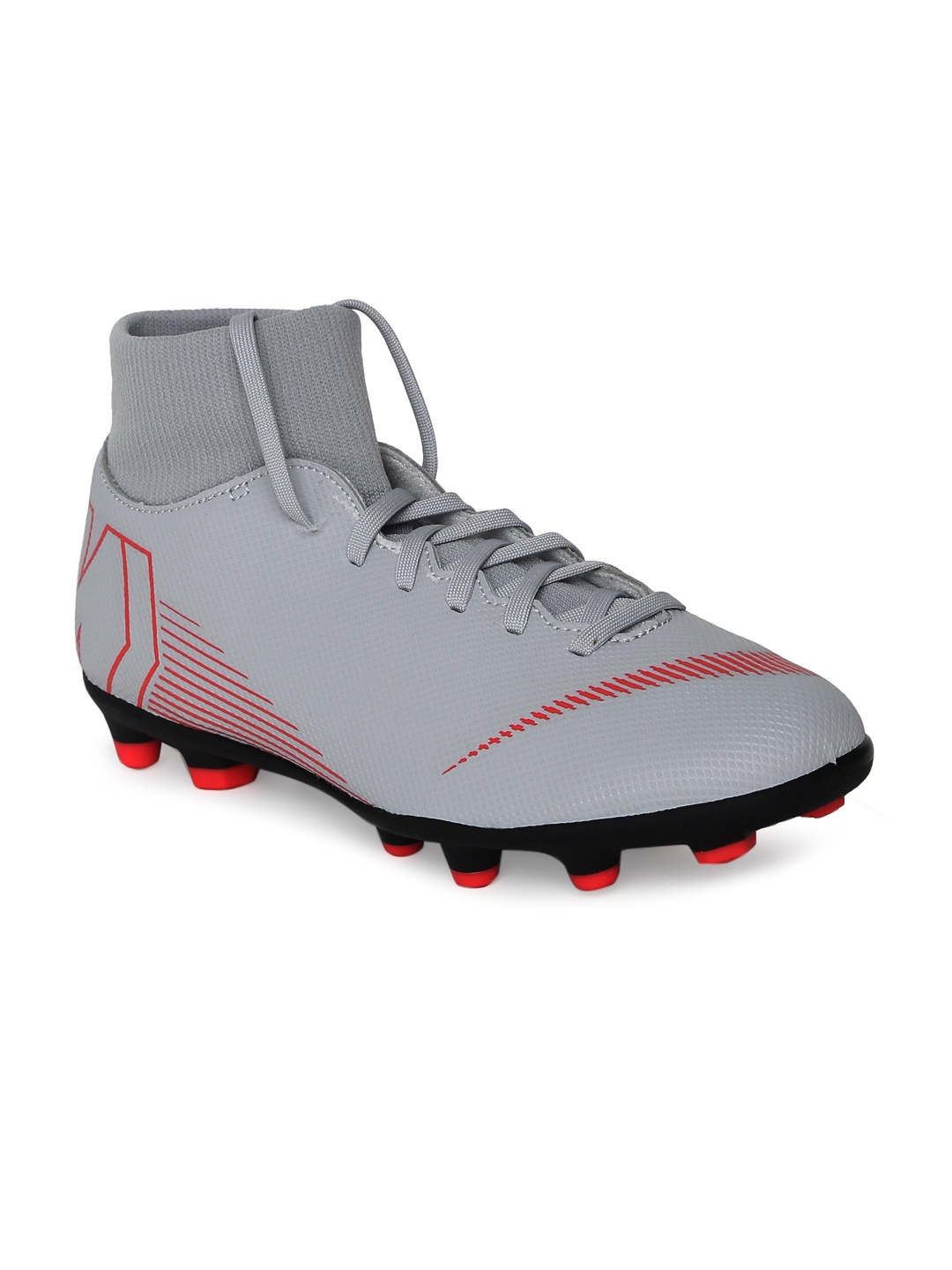 new style d6cff 7648f Nike Unisex Grey Superfly 6 Club MG Football Shoes