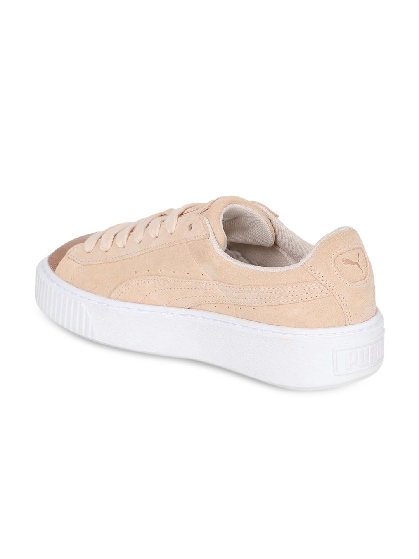 c9bbca6d7acf Buy Puma Suede Platform LunaLux Wn S Women Peach Coloured Sneakers ...
