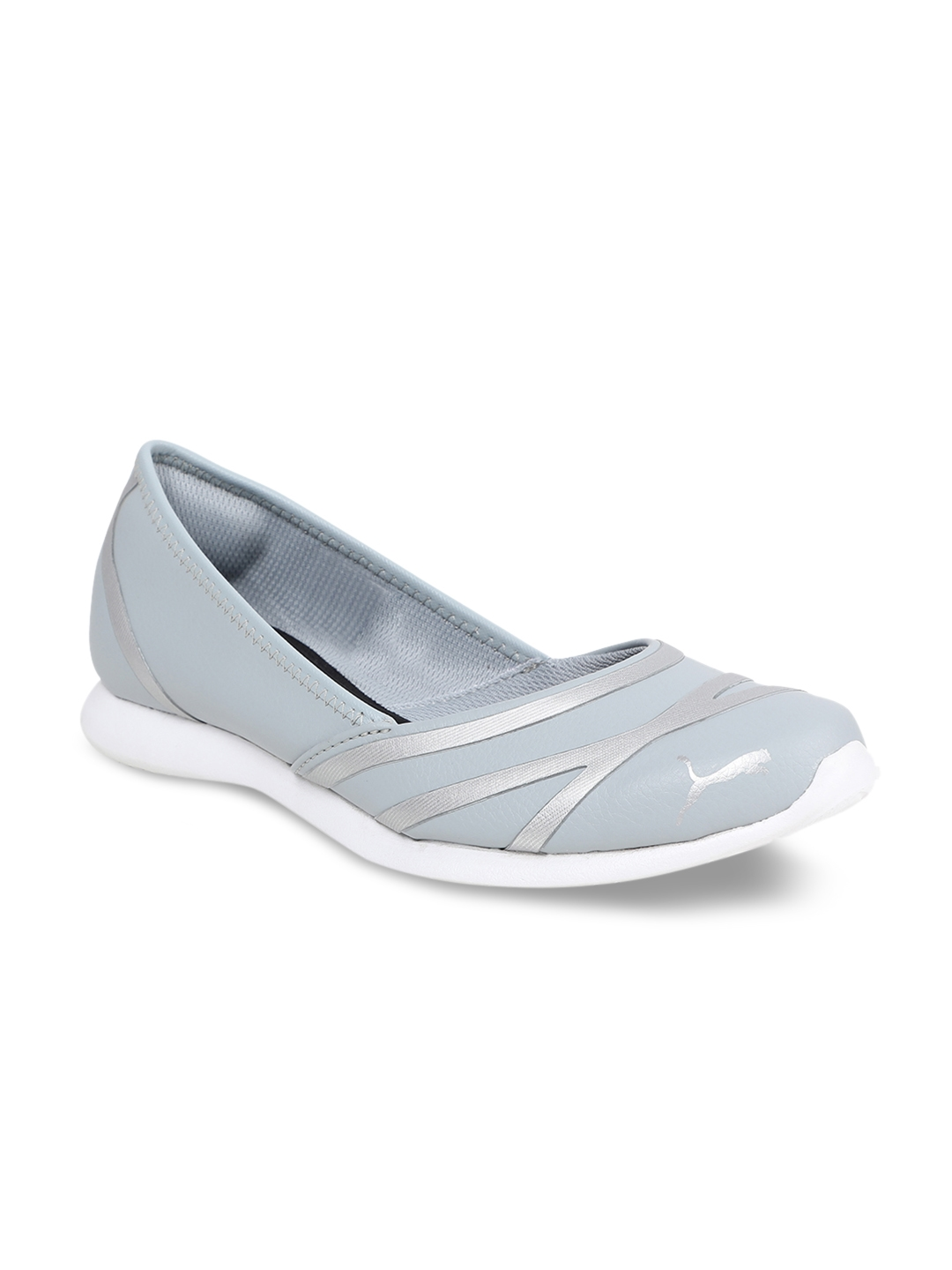 fa4802dc8126a6 Buy Puma Vega Ballet SL IDP Women Grey Ballerinas - Flats for Women 6677164
