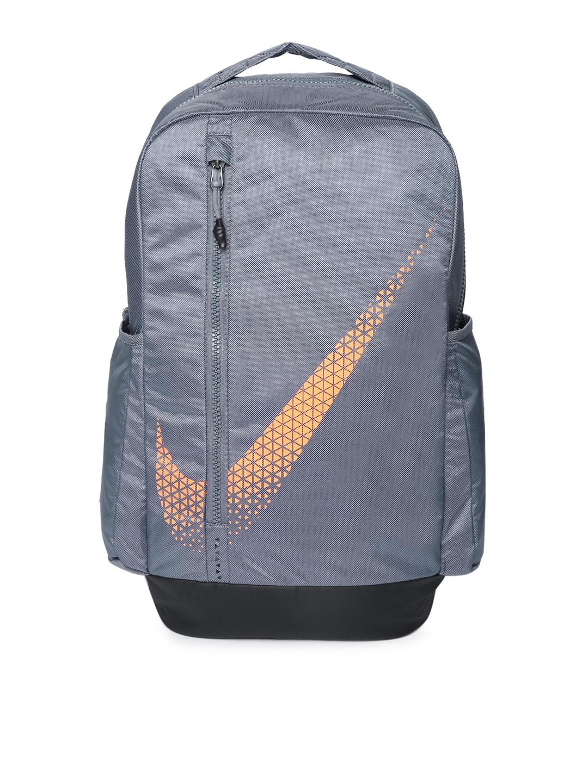 Buy Nike Unisex Grey Brand Logo Print VPR Power Backpack - Backpacks ... a39c648b398d