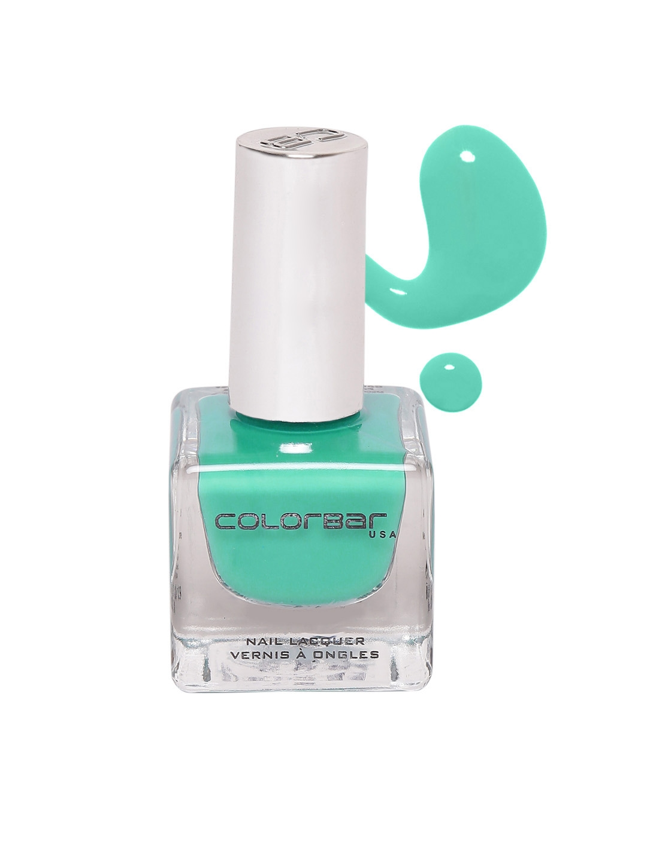 Buy Colorbar Pack Of 2 Brick Gold 9 & Magical Green 40 Nail Lacquer