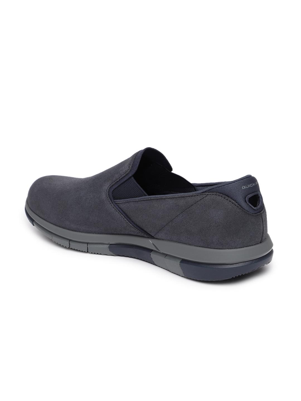05ec904a772 Buy Skechers Men Navy Blue Walking Shoes GO WALK FLEX COMRADE ...