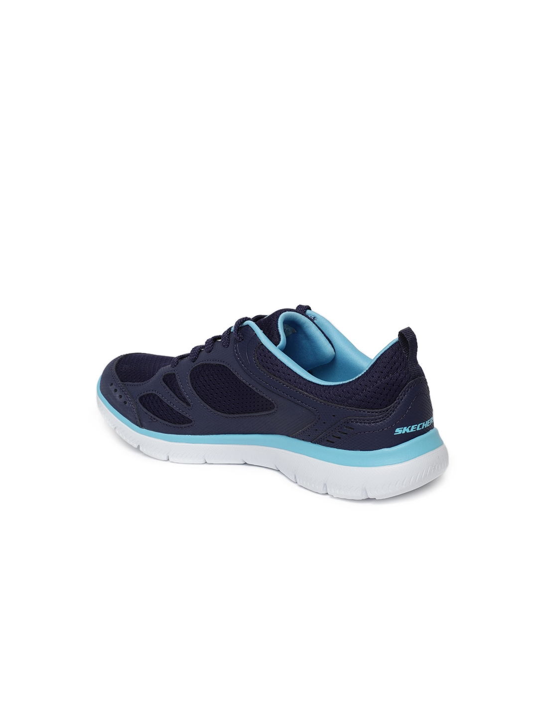 43edf1e55a Buy Skechers Women Blue Summits Suited Sneakers - Casual Shoes for ...