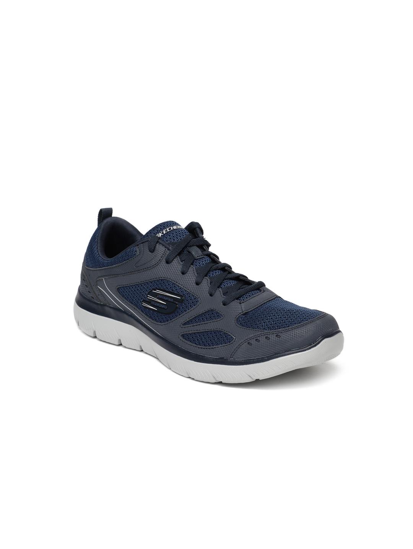 27427d23257e Buy Skechers Men Navy Blue Summits South Rim Training Or Gym Shoes ...