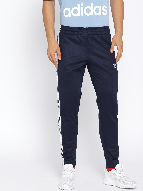 737a38c54f86 Buy ADIDAS Originals Men Navy SNAP Track Pants - Track Pants for Men ...