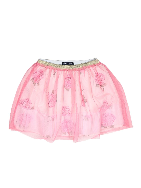 127b7cc3e Buy Allen Solly Junior Girls Pink Floral Net A Line Skirt - Skirts ...