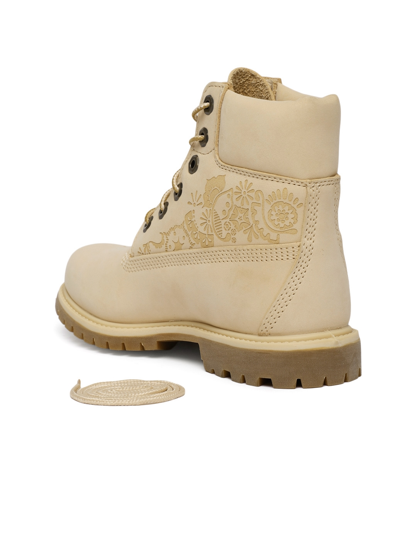 097028e53e935 Buy Timberland Women Beige High Top Premium Waterproof Boots ...