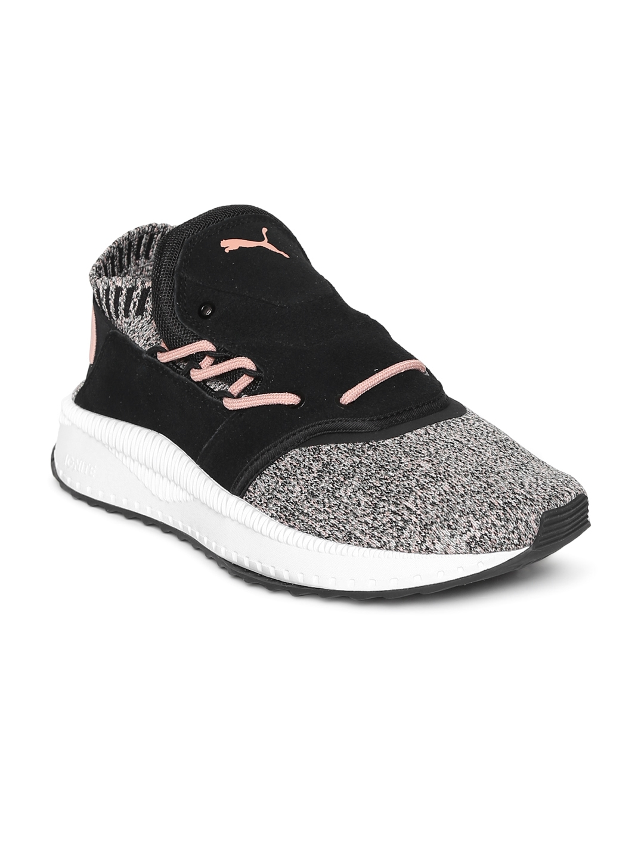 271d82f197e Buy Puma Women Black TSUGI Shinsei EvoKnit Slip On Sneakers - Casual ...