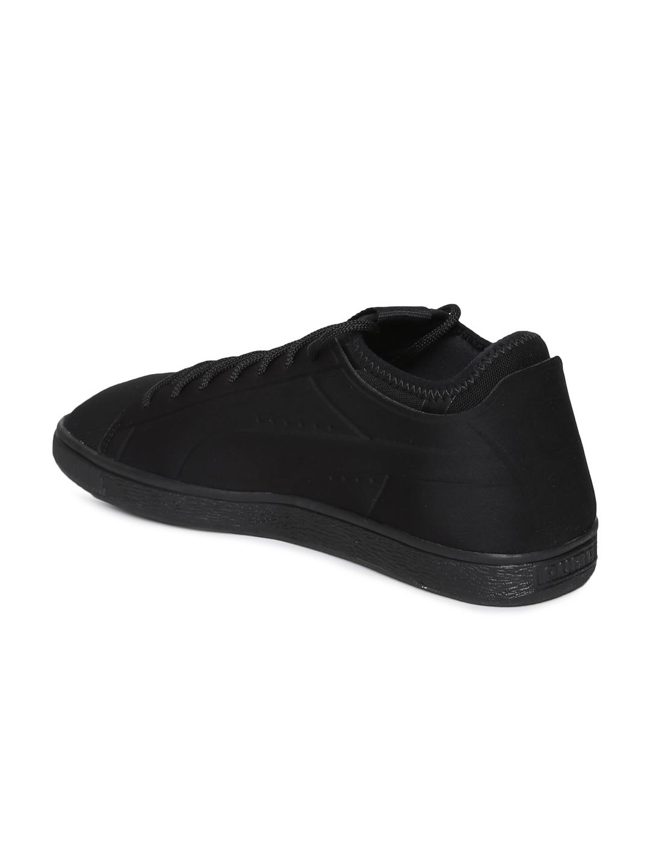 newest 454b1 ec2af Buy Puma Men Black Basket Classic Sock Lo Sneakers - Casual ...