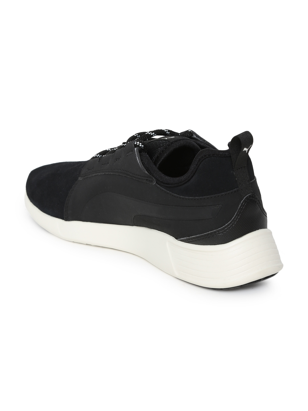7db5a9bceee Buy Puma Men Black ST Trainer Evo SD V2 IDP Suede Sneakers - Casual ...