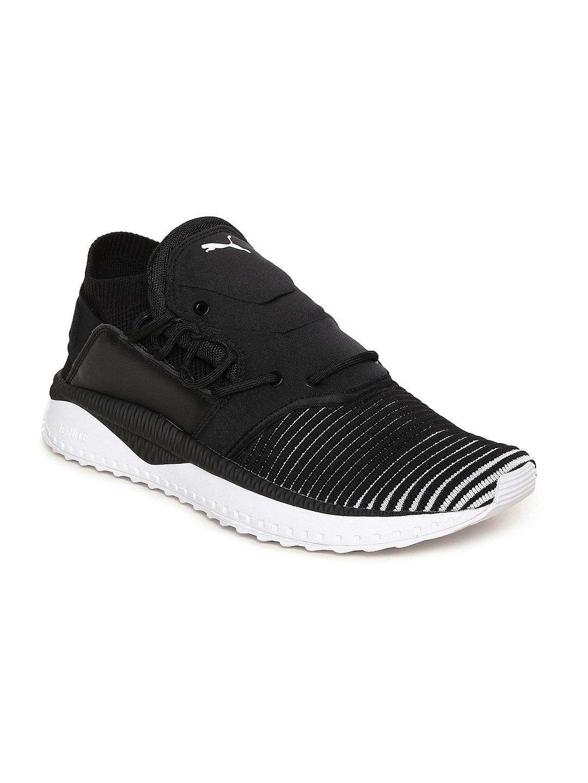 27a094070cc2 Buy Puma Men Black TSUGI Shinsei EvoKNIT Sneakers - Casual Shoes for ...