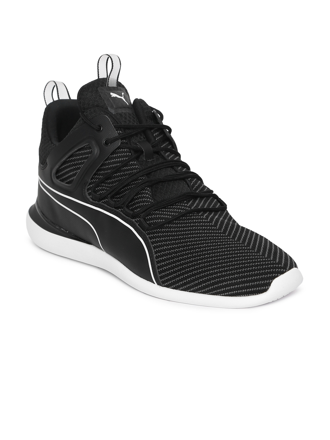 Buy Puma Men Black Scuderia Ferrari Evo Cat Sneakers - Casual Shoes ... 43392eaf7