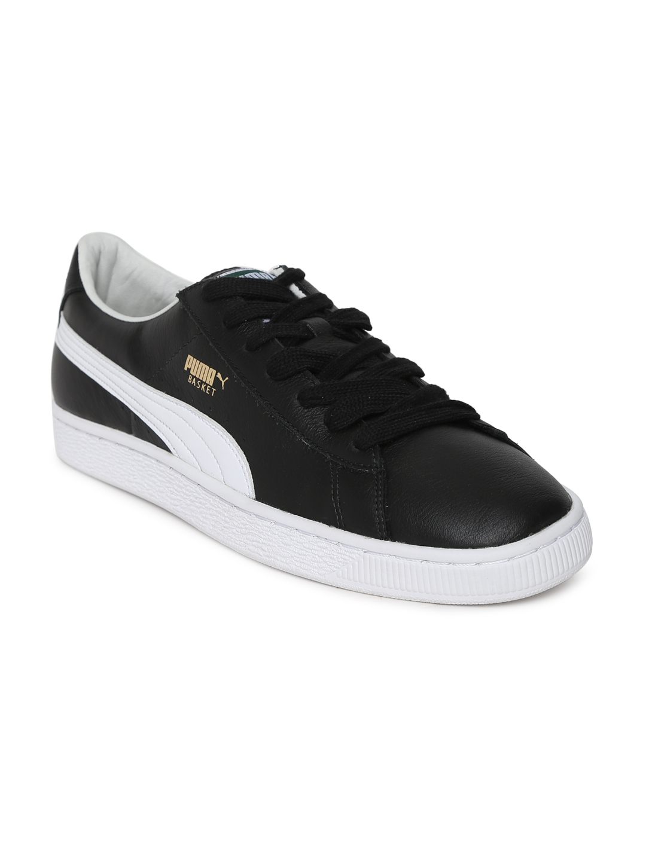 Buy Puma Men Black Basket Classic LFS IDP Sneakers - Casual Shoes ... 13ea6b104