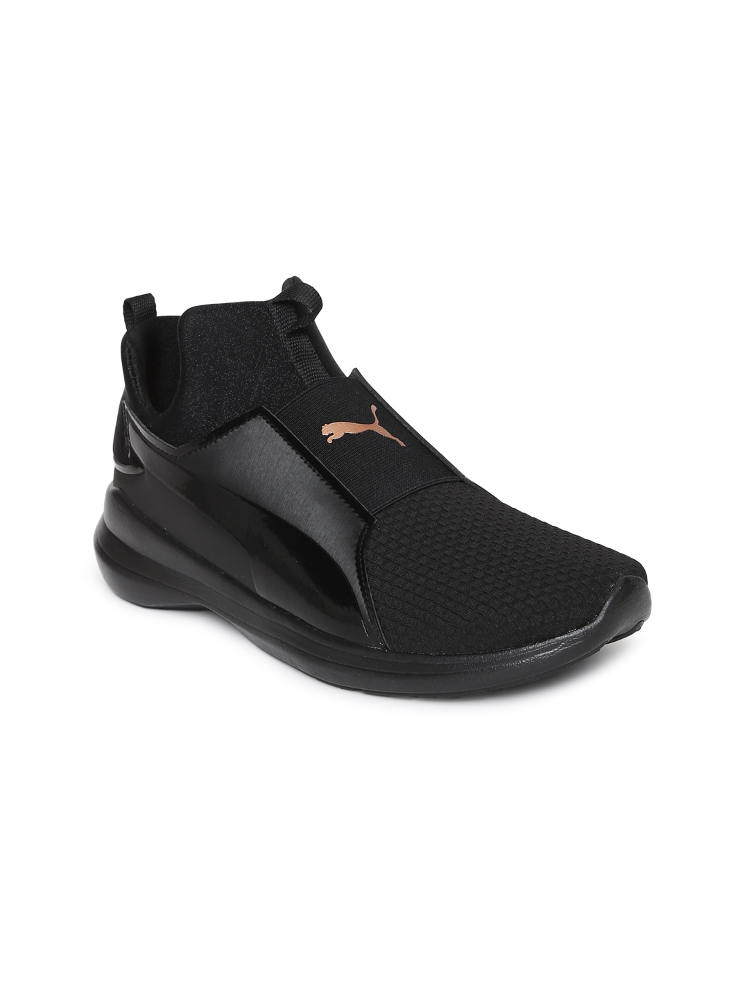 Buy Puma Women Black Rebel Mid Wns EP Sneakers - Casual Shoes for ... b56be3b1b