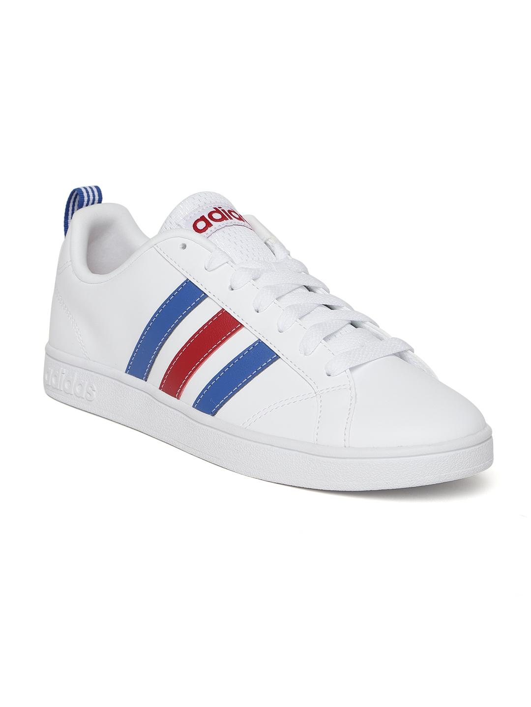 cheap for discount 7949b 63ddf ADIDAS Men White VS Advantage Tennis Shoes