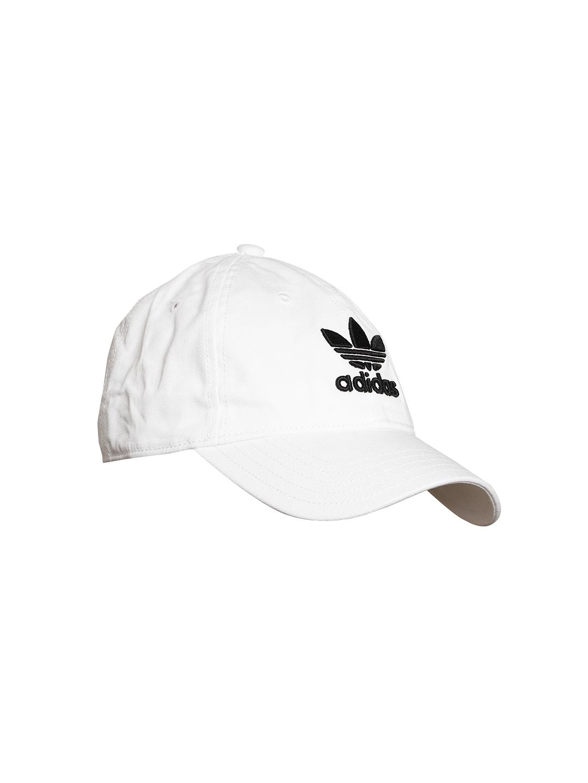 3105c1b1d60b1 Buy ADIDAS Originals Unisex Off White TREFOIL Solid Baseball Cap ...