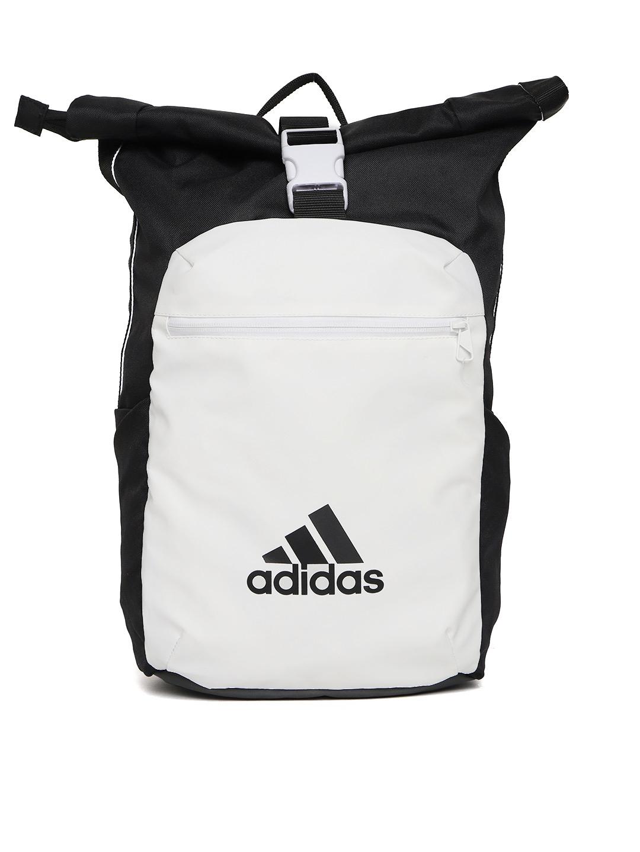 432c5f80e872 Buy ADIDAS Unisex White   Black ATHL Core Colourblocked Backpack ...