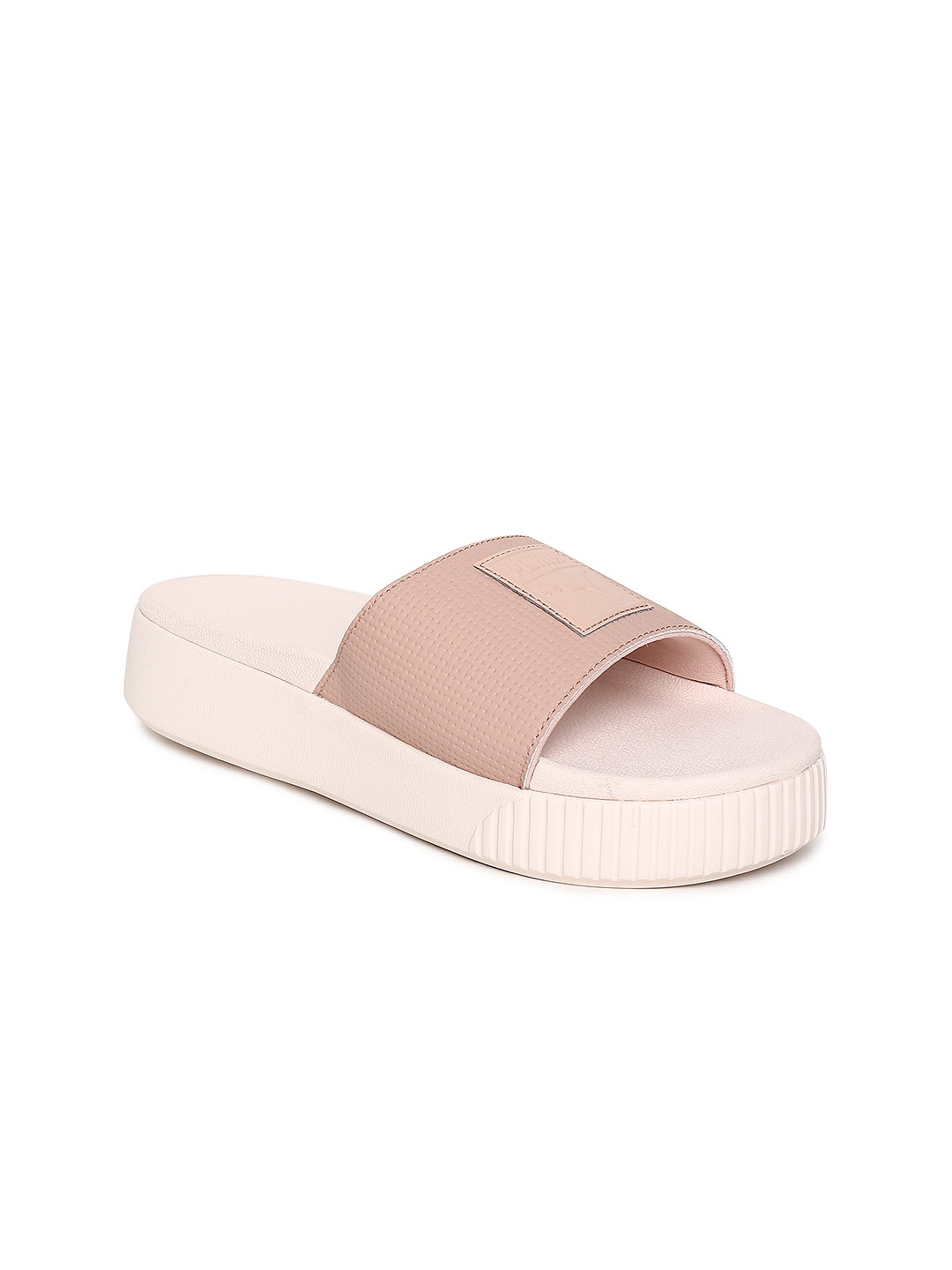 Buy Puma Women Peach Coloured Platform Slide Wns EP Sliders - Flip ... af324b27e