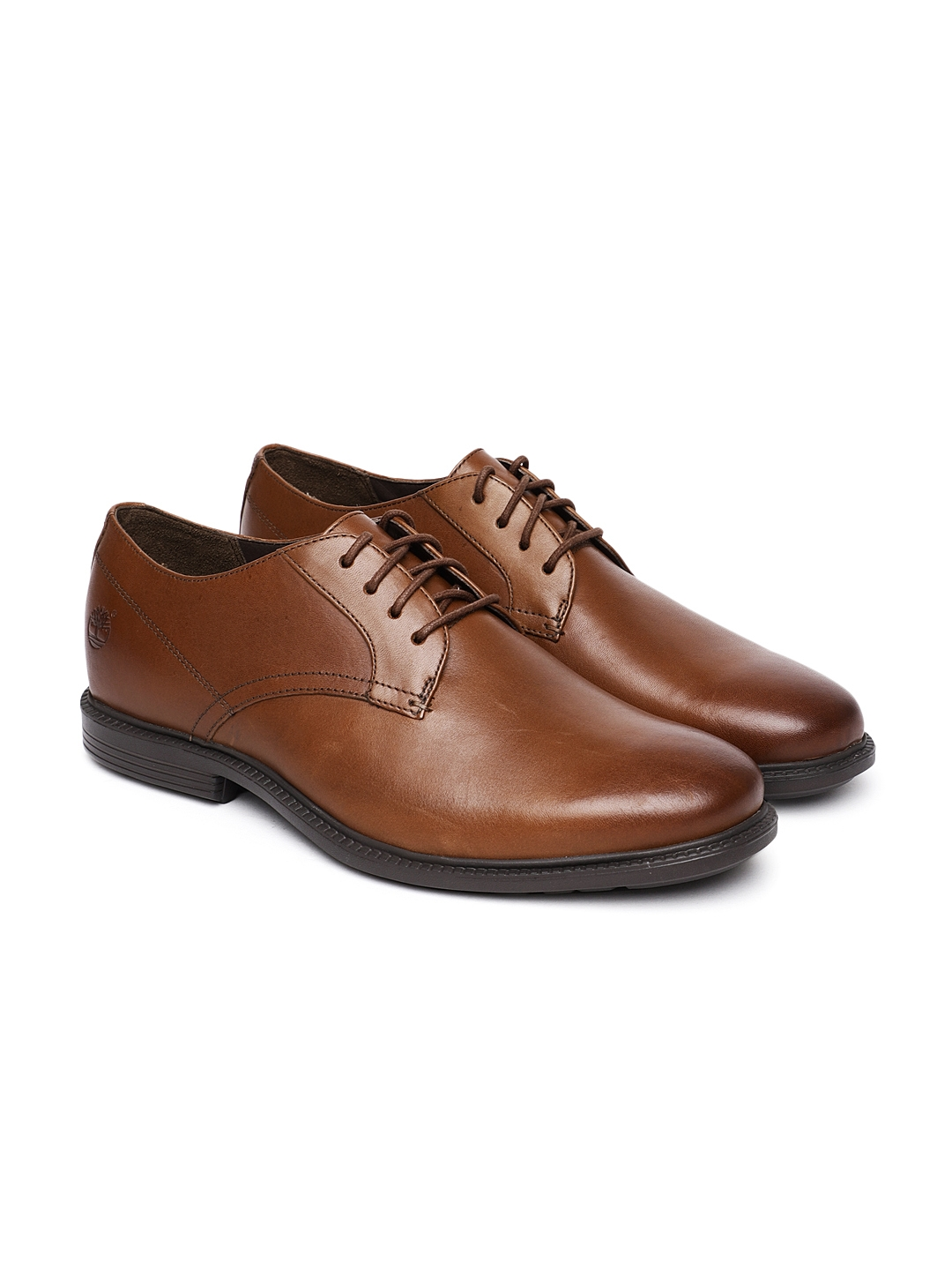 ec351ce5e420 Buy Timberland Men Brown ARDEN HEIGHTS Formal Leather Derbys ...