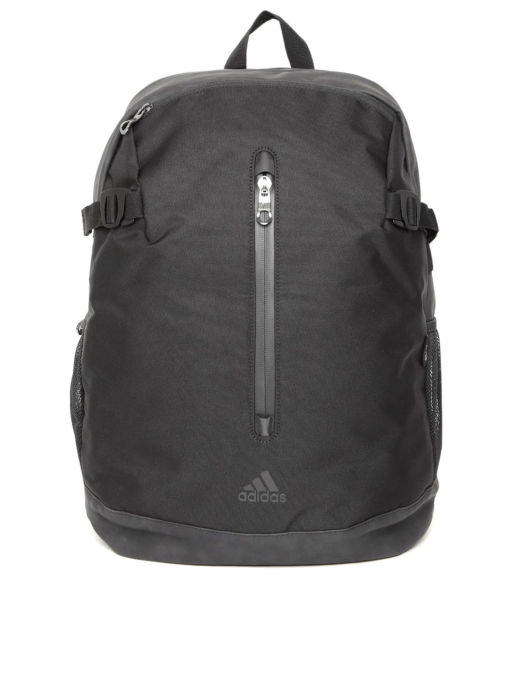6d7ef07e6b83 Buy ADIDAS Men Black Power Zip 18 Training Backpack - Backpacks for ...
