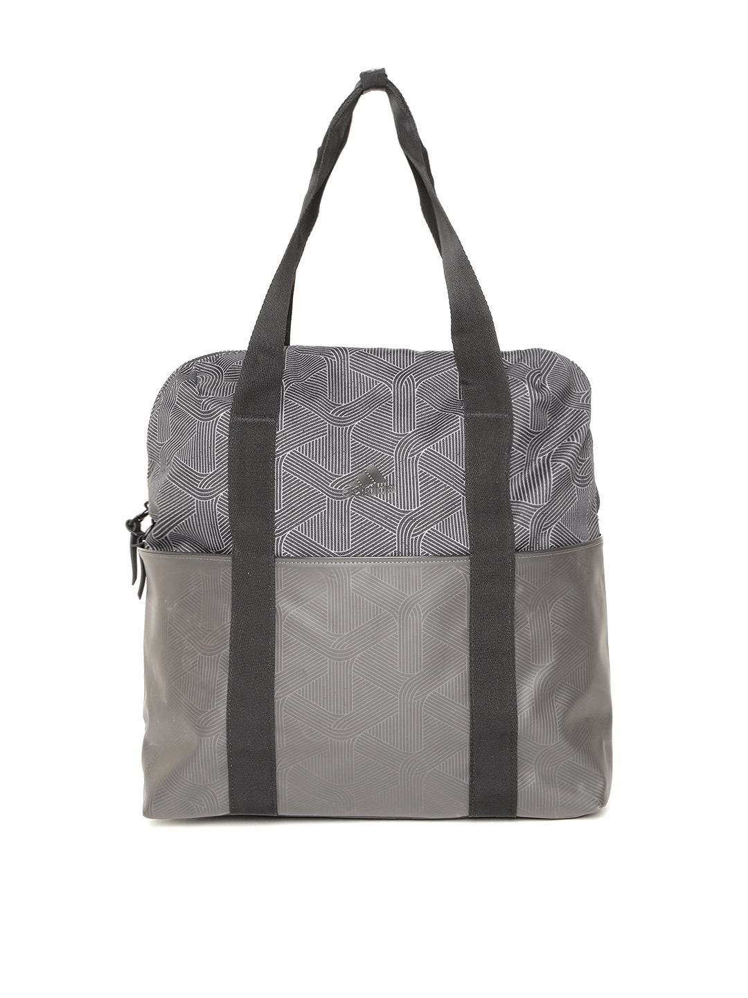 ADIDAS Women Grey TR ID G2 Printed Training Shoulder Bag Cum Laptop Backpack 3b37dc83a7c27