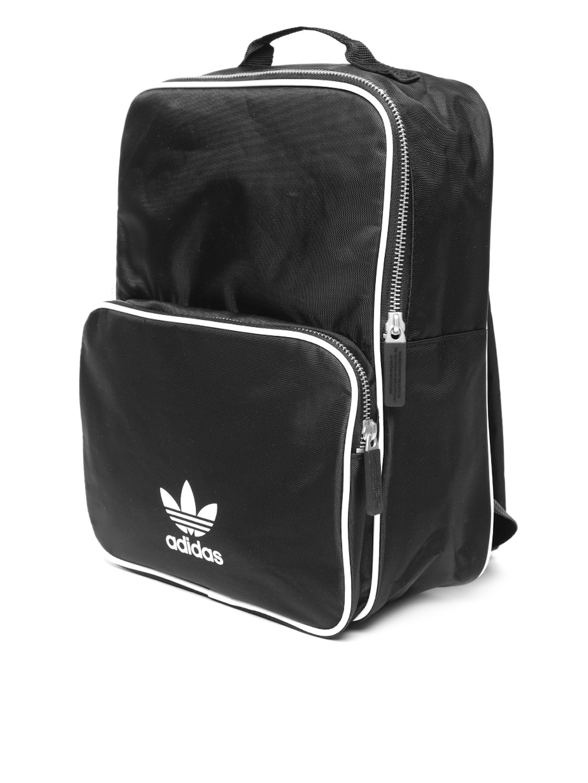 Buy Adidas Originals Unisex Black BP CL M ADICOLO Solid Backpack ... 073685586f509