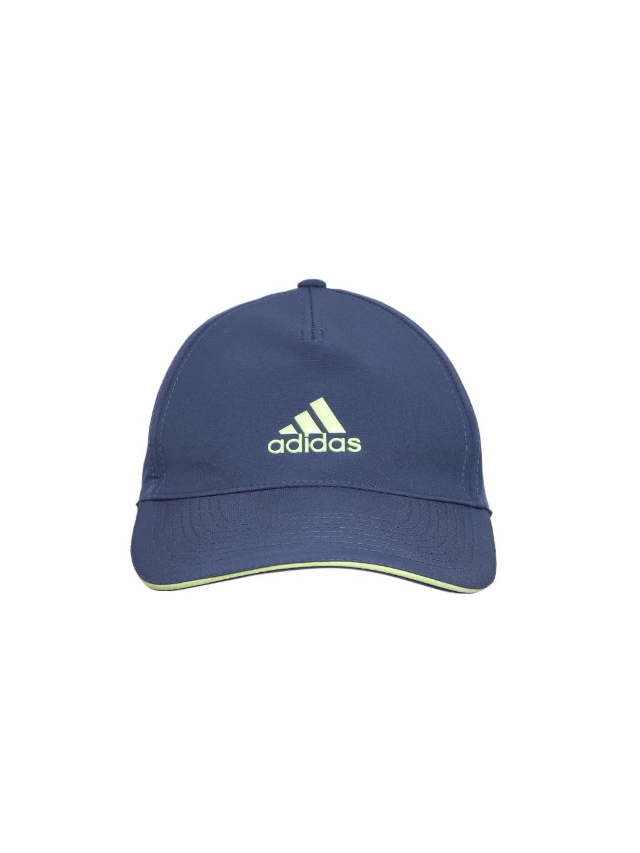 156df953696 Buy ADIDAS Unisex Blue Solid Baseball Cap - Caps for Unisex 6702266 ...