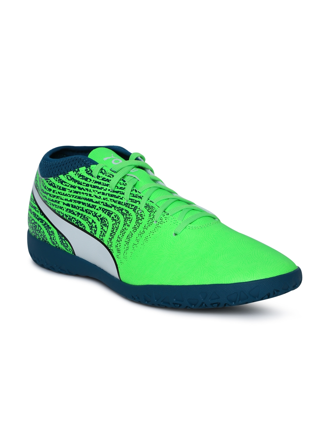 7ed792c2f980 Buy Puma Men Green One 18.4 IT Indoor Training Shoes - Sports Shoes ...