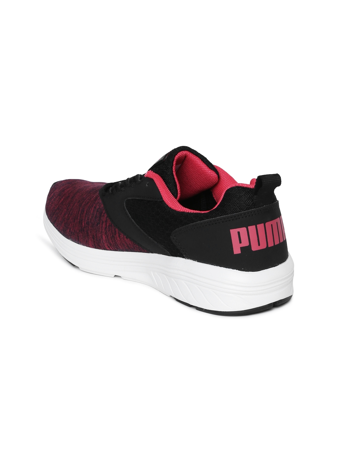 1a193725887ad8 Buy Puma Women Black   Pink Comet IPD Running Shoes - Sports Shoes ...