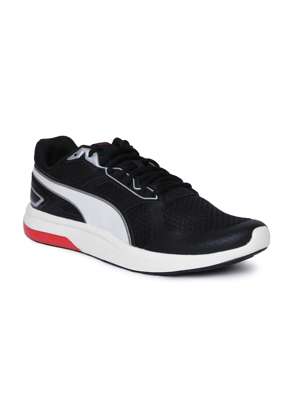Buy Puma Men Black Escaper Tech Running Shoes - Sports Shoes for Men ... 0bfd6860b